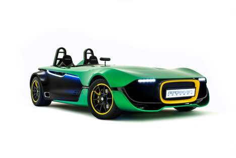 Redesigned Iconic English Roadsters