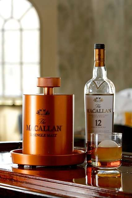 Whiskey Ice Makers - The Macallan Ice Ball Maker is a Go-To Solution for Whisky Drinkers