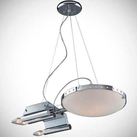 Intergalactic Hanging Lamps