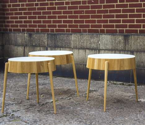 Minimalist Tapered Tables