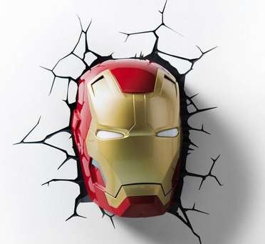Let Iron Man Keep You Protected and Calm at Night