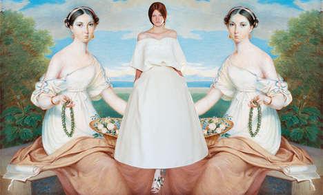 Classical Art Fashion Comparisions