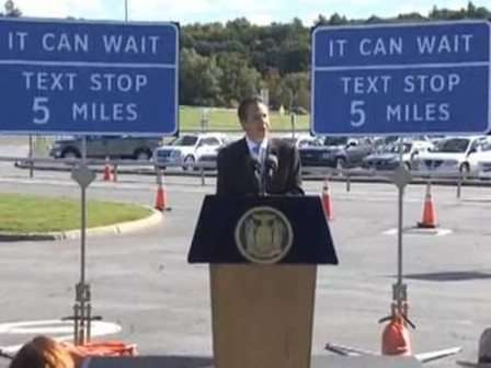 SMS-Friendly Highway Stops