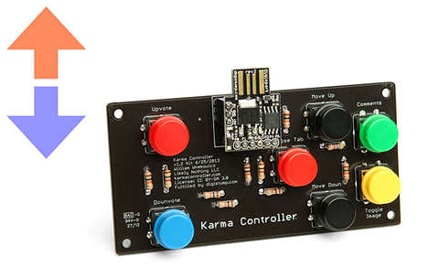 Internet Gaming Controllers - The 'Reddit Karma Controller' Will Turn Your Favorite Site into a Game