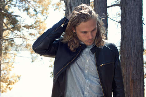 Ruggedly Sophsticated Menswear - The 7 Diamonds Lookbook Marries Masculinity and Nature