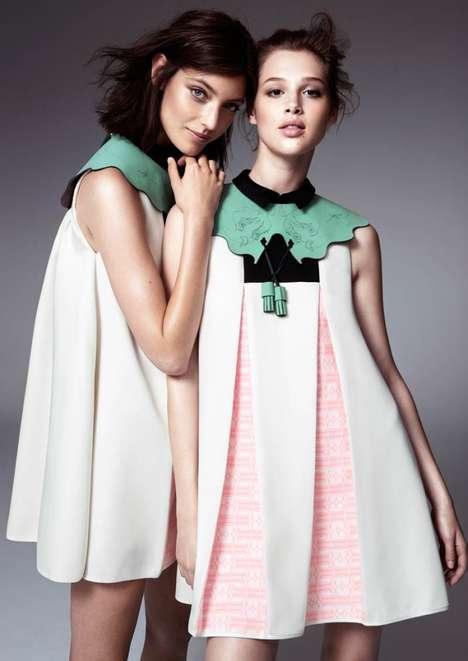 Edgy Doll-Like Fashion