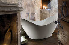 Bowl-Inspired Baths