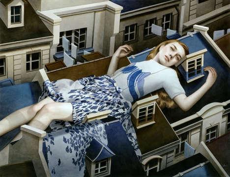 Sleepless Giant Paintings
