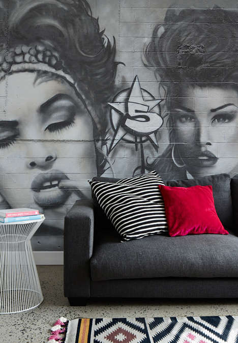 Street Style Wall Decals - Add a Rebellious Touch to the Home with these PIXERS Graffiti Decals