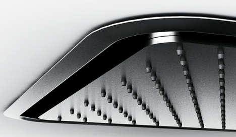 Defogging Washroom Faucets