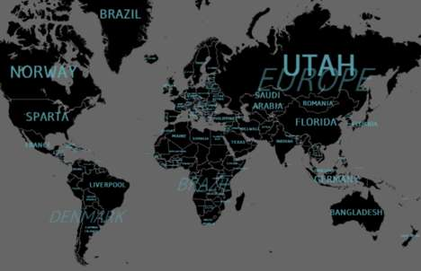 Worldwide Metaphor Maps