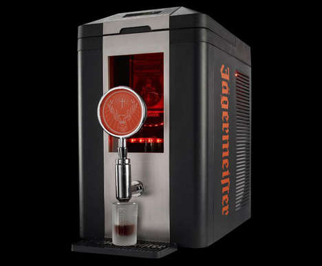 Self-Dispensing Liquors - The Jagermeister Shotmeister Dispenses Ice Cold Shots of Jager