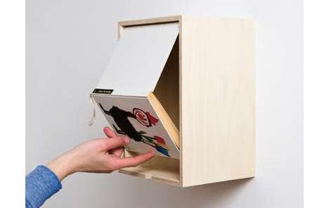 Open Book Cubbies