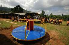Energy-Generating Jungle Gyms - Empower Playgrounds Harnesses the Boundless Energy of Children