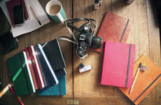 Premium Leather Notebooks - Monsieur Notebooks is a Dashing Alternative to Moleskine