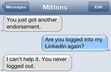 Comedic Cat Text Exchanges - Texts From Mittens Shows the Conversations Between a Cat and her Owner