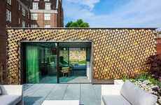 Spectacular Vine-Covered Homes - Squire and Partners Have Created an Eye-Catching Vine Facade