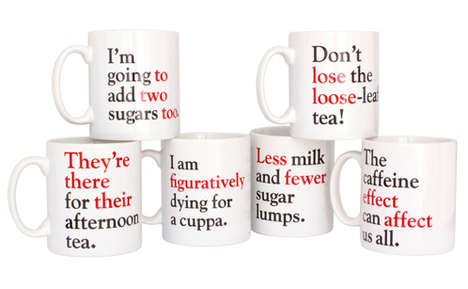 These Grammar Coffee Mugs are Perfect for Grammar Nerds