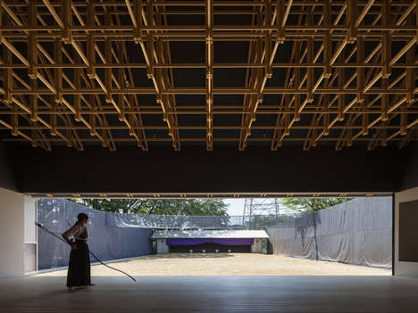 Complex Wooden Sports Facilities