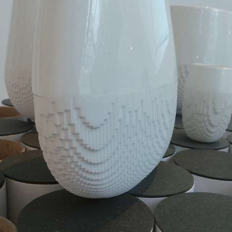 Pretty Pixelated Pottery