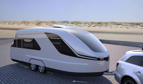 27 Futuristic Camper Designs