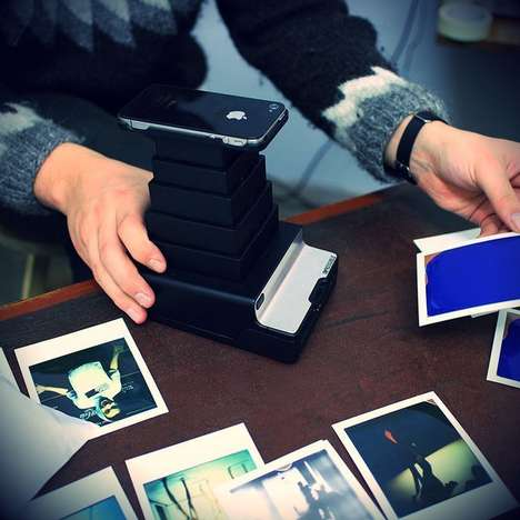 Photo-Converting Cameras - The iPhone-to-Polaroid Converted Changes Digital Images to Polaroids