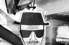 Drug Dealer-Inspired Air Fresheners - The Heisenberg Air Freshener Smells Like Strawberry, Not Meth