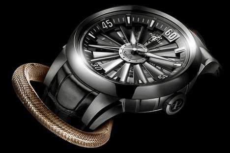 Luxe Snake-Inspired Watches