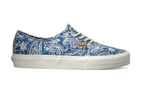 The 'Paisley' Vans Sneakers are the Newest Print to Release This Year