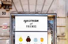 Character Ice Cream Parlors - Barcelona's Eyescream and Friends Features Adorable Designs