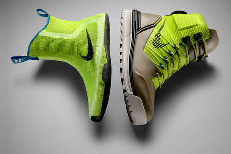 Sock-Infused Boots - The Nike LunarTerra Arktos Boot is Designed for the Cold