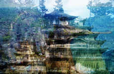 Layered City Collage Photography