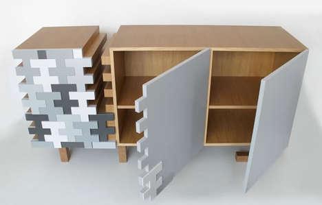 Defragmented Modern Furnishings
