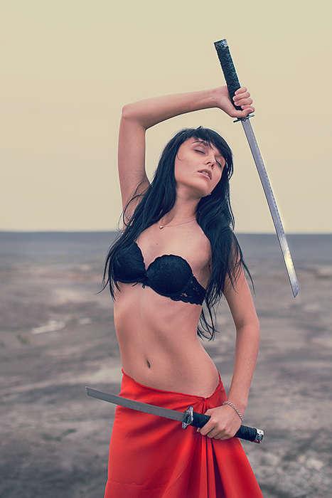 Sword-Swinging Beach Editorials