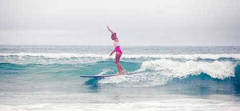 Vibrant Surfing Suits