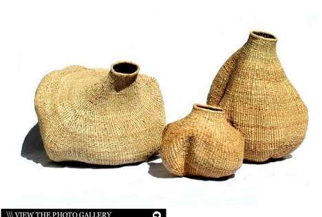 Gourd-Shaped Baskets