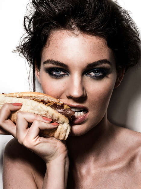 Hungry Model Editorials