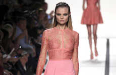Show-Stopping Ethereal Fashions - Elie Saab Spring/Summer is a Sweet & Head-Turning Collection
