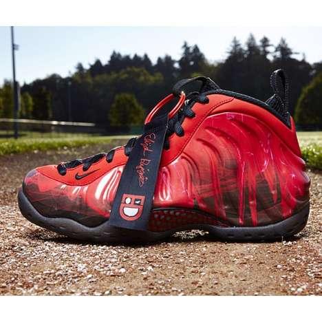 Firey Red Camo Kicks
