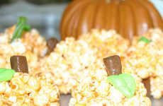 Squash-Infused Popcorn Recipes - This Simple Pumpkin Recipe Uses Popcorn and Jello