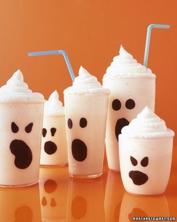 Simple Spooky Ghost Shakes