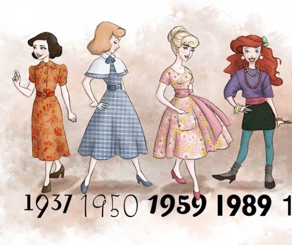59 Modified Princess Illustrations