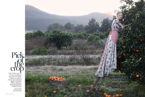 Elegant Orchard Fashion