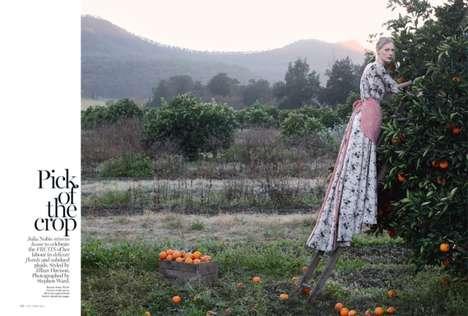 Elegant Orchard Fashion