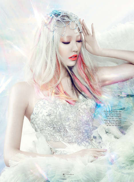 Holographic Anime Editorials