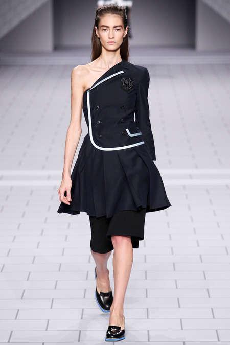 Punk-Inspired Schoolgirl Fashion