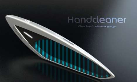 Finger-Disinfecting Devices - The Electrolux HandCleaner Promises Precision Sanitization