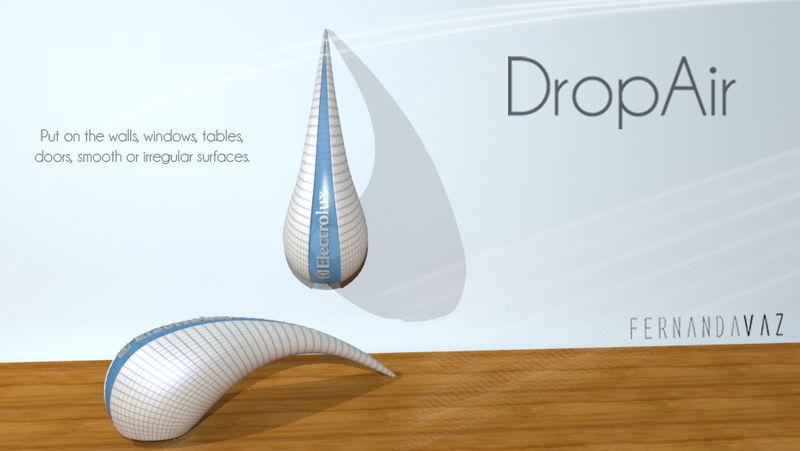 Raindrop Air Purifiers : DropAir