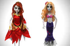 Children's Zombie Apocalypse Dolls - These Zombie Apocalypse Disney Princess Dolls are Freaky