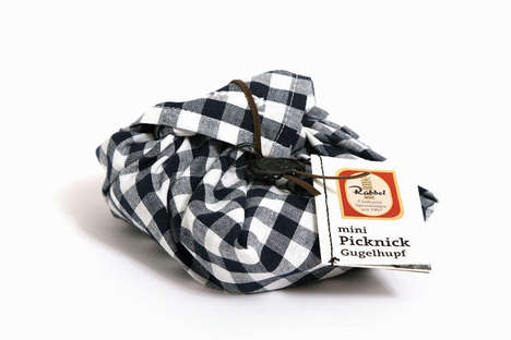 Packed Lunch Snack Wrappers - Picnic Packaging Has a Scrumptious Homespun Appeal That's Reusable